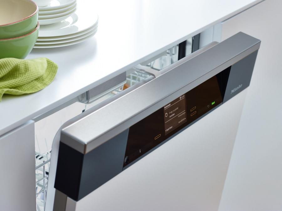 Автоматическое открытие AutoOpen дверцы посудомоечной машины Miele