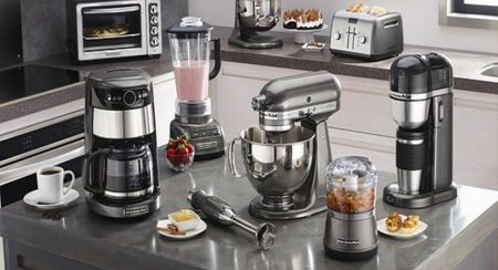 Мелкая бытовая техника Kitchen Aid и посуда