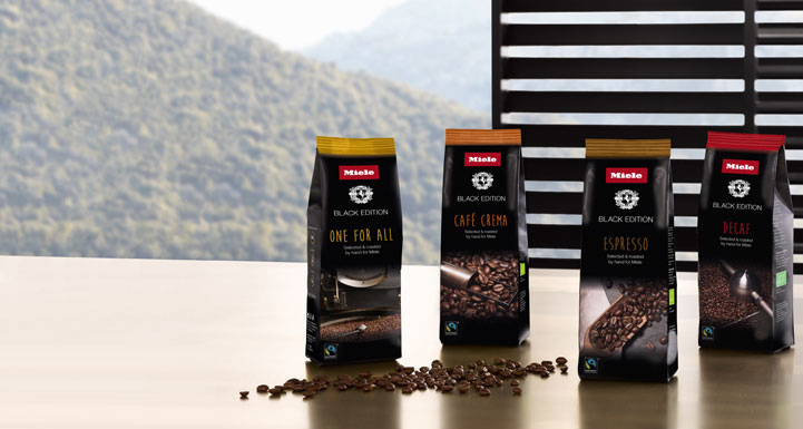 Новые сорта кофе от Miele