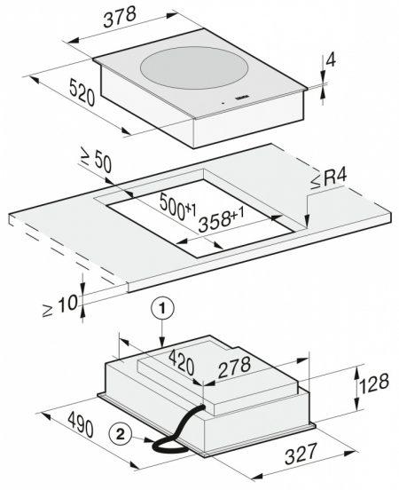 Индукционная панель Wok CS7641 FL
